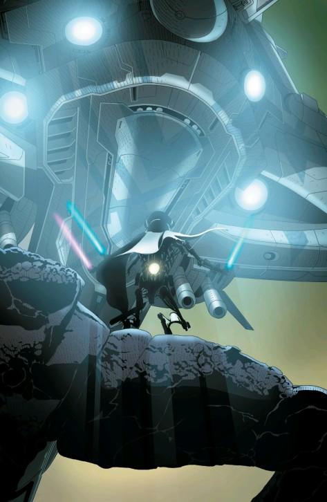 From Darth Vader #15 by Salvador Larroca & Edgar Delgado