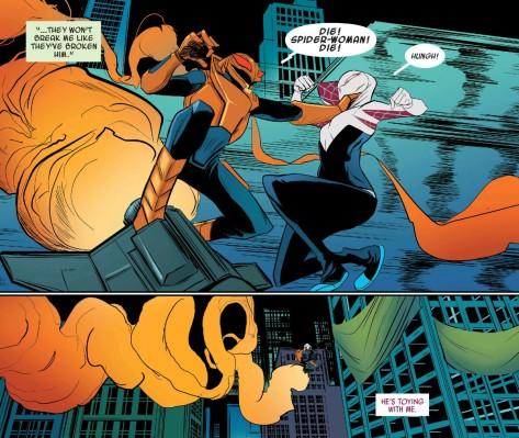 From Spider-Gwen #4 by Robbie Rodriguez & Rico Renzi