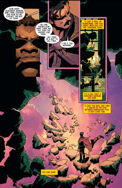 From Dr Strange #4 by Chris Bachalo
