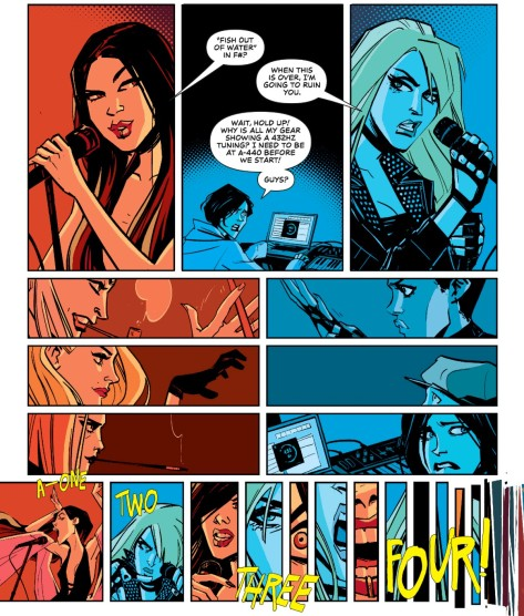 From Black Canary #6 by Annie Wu & Lee Loughridge