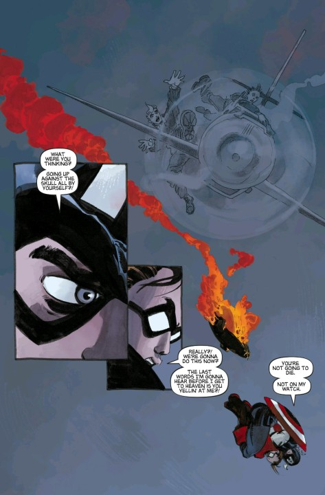 From Captain America WHite #5 by Tim Sale & Dave Stewart