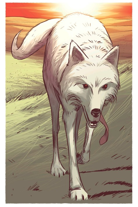 From East of West #23 by Nick Dragotta & Frank Martin