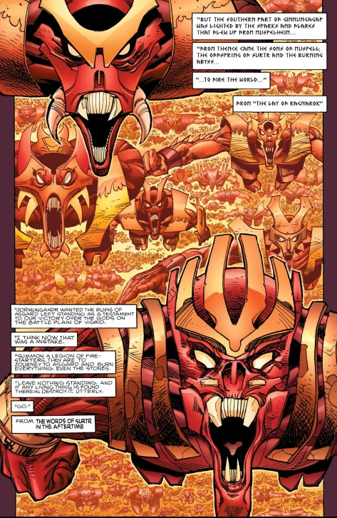 From Ragnarok #7 by Walt Simonson & Laura Martin