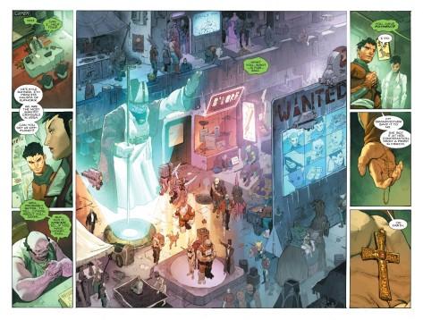 From The Omega Men #7 by Barnaby Bagenda, IC Guara & Romula Fajardo Jr