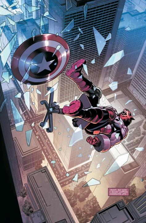 From Captain America: Sam Wilson #5 by Paul Renaud & Romulo Fajardo