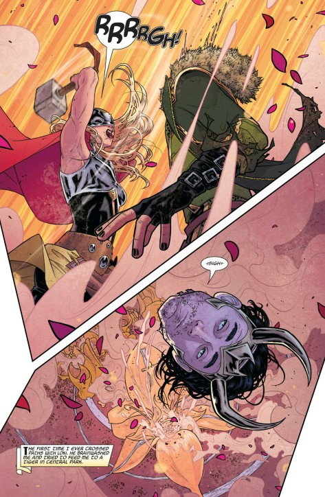 From The Mighty Thor #3 by Russell Dauterman & Mathew Wilson