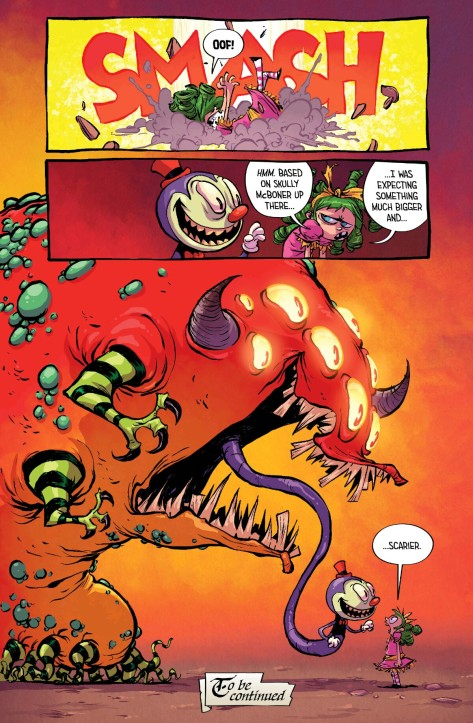 From I Hate Fairyland #4 by Skottie Young & Jean-Francois Beaulieu