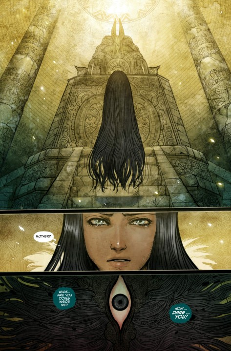 From Monstress #3 by Sana Takeda