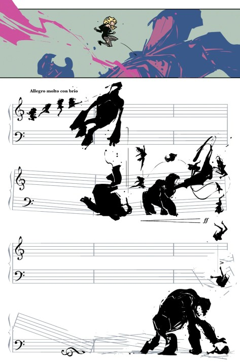 From Black Canary #7 by Annie Wu & Lee Loughridge