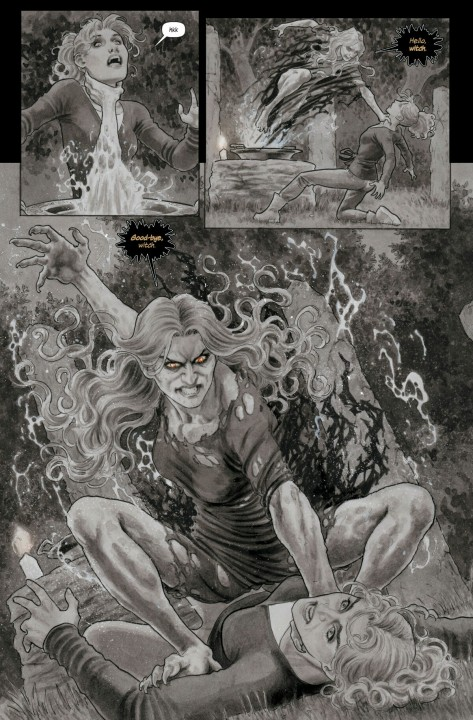 From Black Magick #4 by Nicola Scott