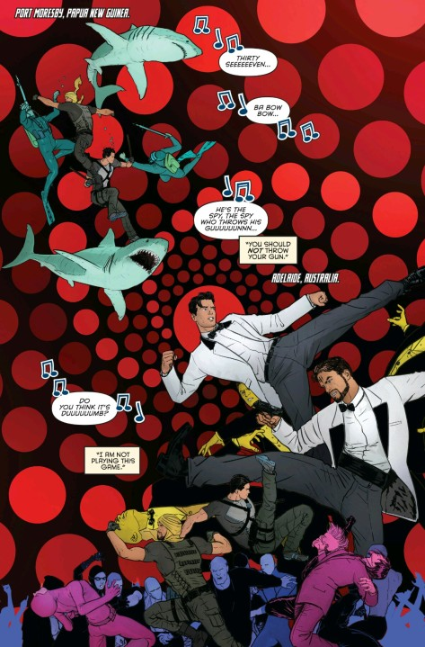 From Grayson #16 by Mikel Janin & jeremy Cox