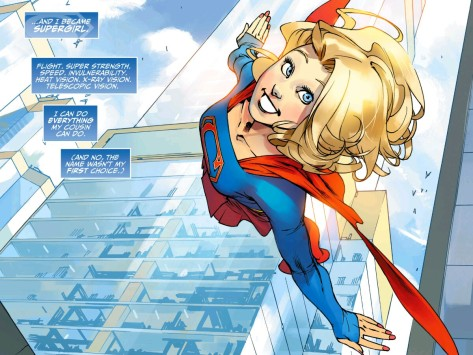 From The Adventures Of Supergirl #1 by Bengal