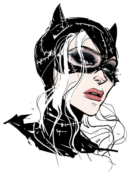 Catwoman Annie Wu