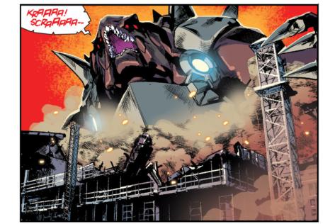 From Mighty Morphin Power Rangers #0 by Hendry Prasetya