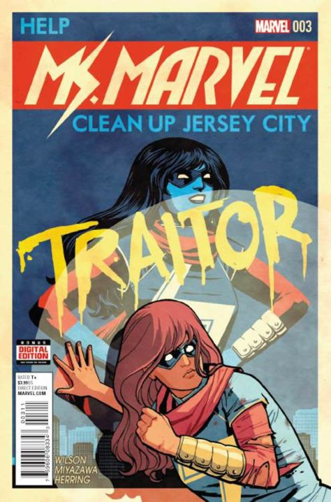 Ms Marvel 3 Cliff Chiang