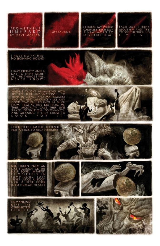 Prometheus Eternal Illustrates Artistic Inspiration