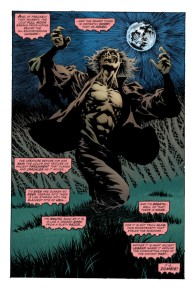 Swamp Thing 1 zombie Kelley Jones