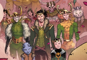The Mighty Thor 3 Gaggle of Lokis Russell Dauterman