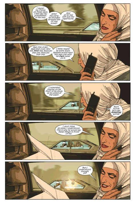 From Sheriff of Babylon #3 by Mitch Gerads