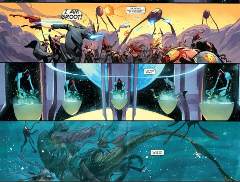 From Rocket & Groot #2 by Filipe Andrade & Jean Francois Beaulieu