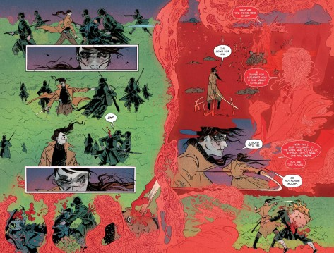 From Pretty Deadly #7 by Emma Rios & Jordie Bellaire