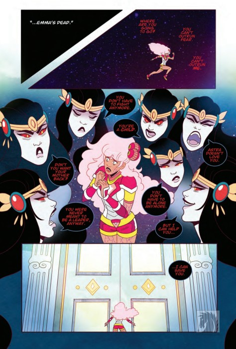 From Zodiac Starrforce #4 by Paulina Ganucheau, Kristen Acampora & Tabby Freeman