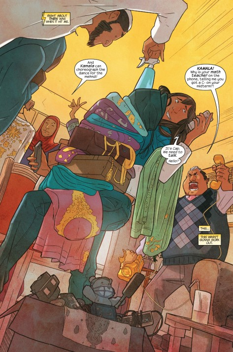 From Ms Marvel #4 by Nico Leon & Ian Herring