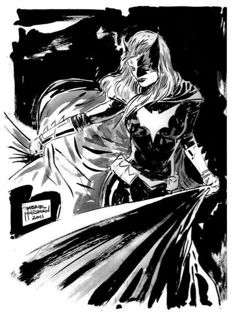 Batwoman Gabriel Hardman