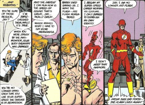 Crisis on Infinite Earths 12 Flash George Pere