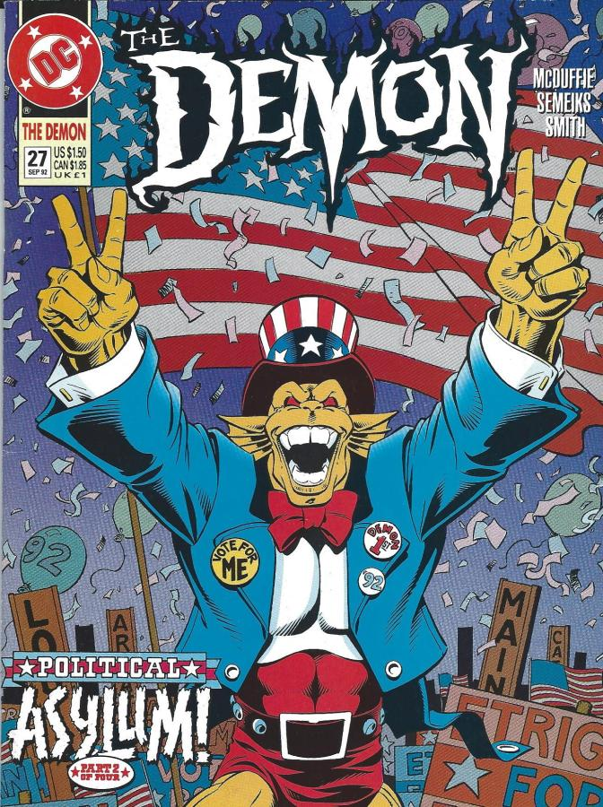 Etrigan '92: The Demon Ran for President (It's True!)