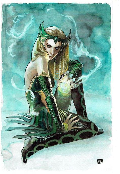 Enchantress pout Stephanie Hans