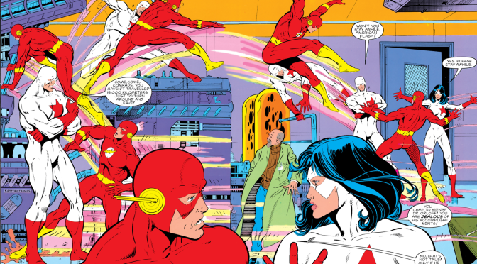 Wally West's Initial Run as The Flash