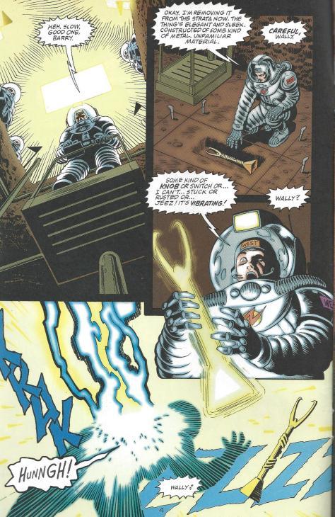 Flashpoint Martian Artifact