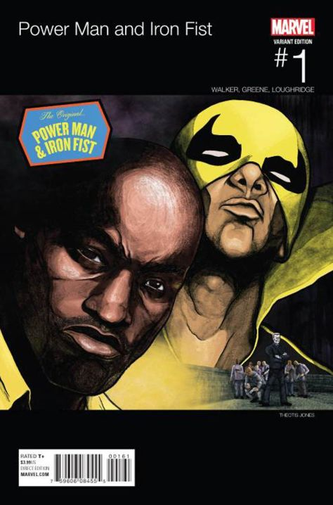 Power Man & Iron Fist 1 Theotis Jones