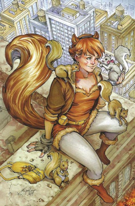Squirrel Girl Variant 1 Siya Oum
