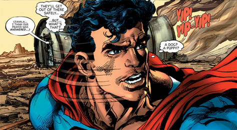 The Coming of the Supermen 1 what a puppy Neal Adams