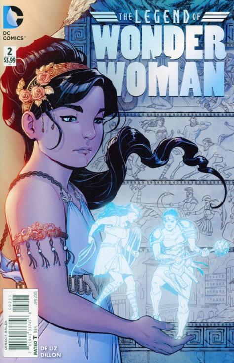 The Legend of Wonder Woman #2 Renae De Liz