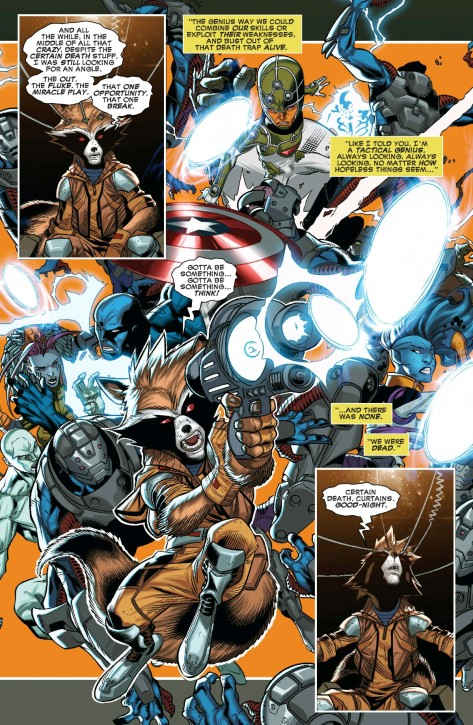 From Guardians Of Infinity #4 by Carlos Barberi, Walden Wong, Craig Yeung & Isreal Silva