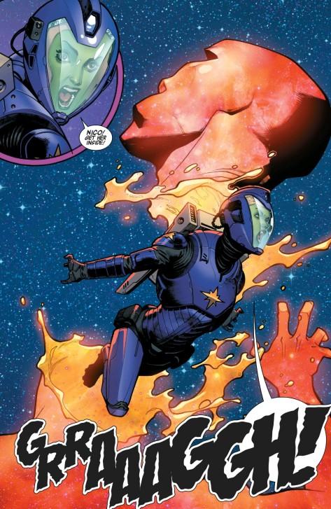 From A-Force #3 by Jorge Molina & Matt Milla
