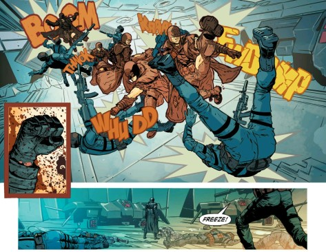 From Midnighter #10 by Hugo Petrus & Ramulo Farjardo Jr
