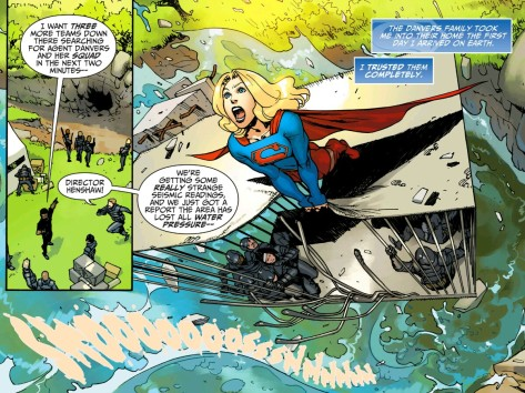 From Adventures Of Supergirl #3 by Bengal