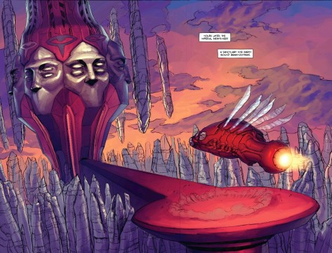 From Prophet Earth War #2 by Ron Ackins & Paul Davey
