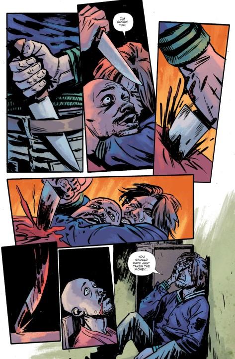 From The Violent #3 by Adam Gorham & Michael Garland