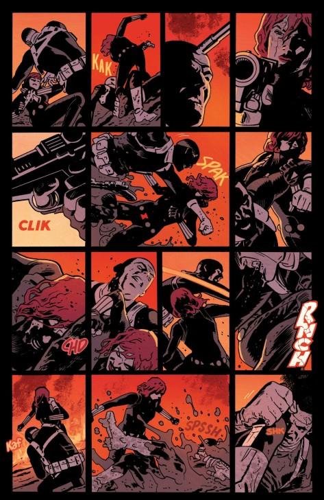 From Black Widow #1 by Chris Samnee & Matt Wilson