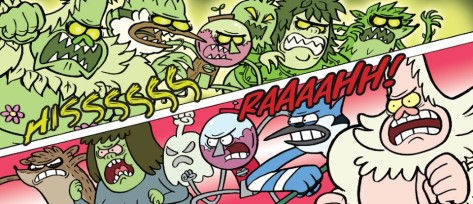 From Regular Show #33 by Laura Howell