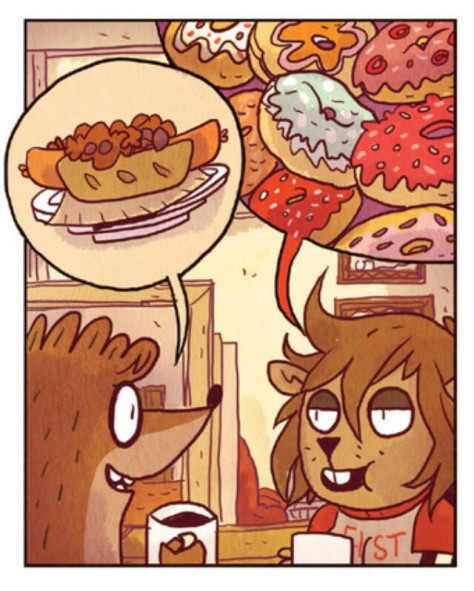 From Regular Show #33 by Will Kirby