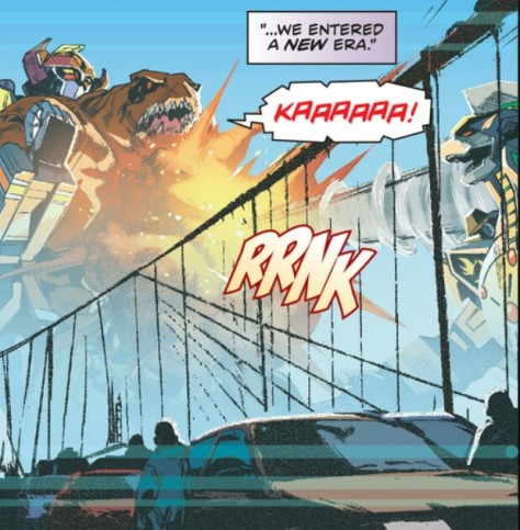 From Mighty Morphin Power Rangers #1 by Hendry Prasetya and Matt Herms