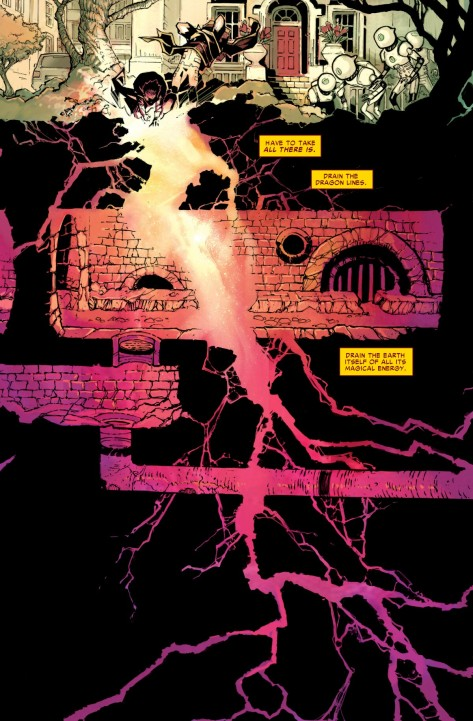 From Dr. Strange #6 by Chris Bachalo & Java Tartag