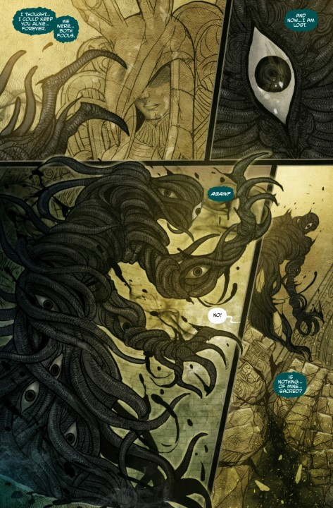 From Monstress #4 by Sana Takeda