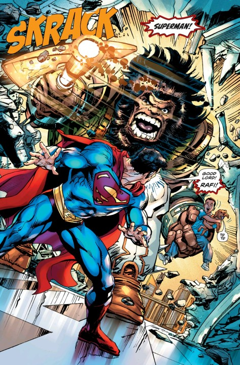From The Coming of The Supermen #2 by Neal Adams & Alex Sinclair